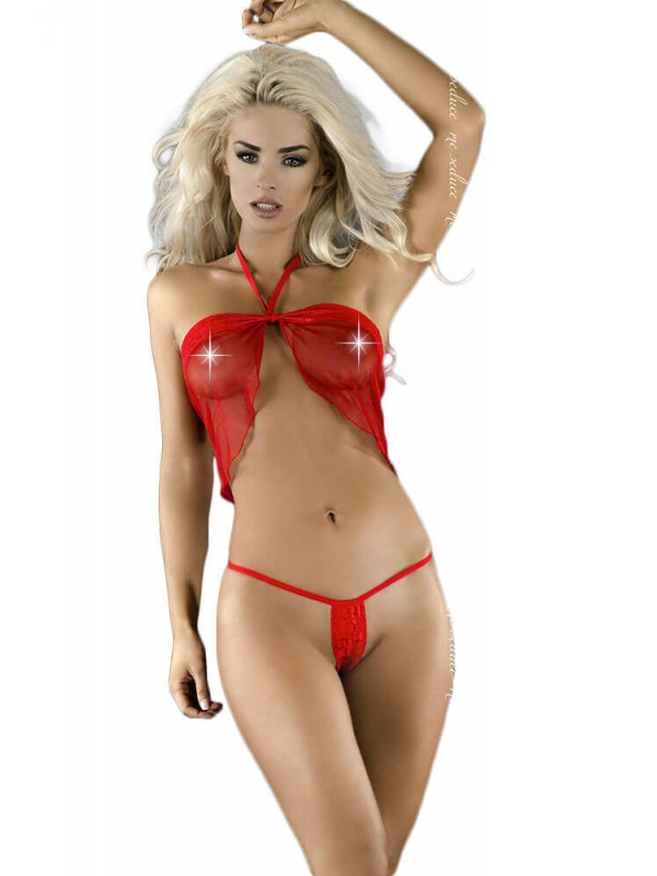Γυναικείο Babydoll - Me Seduce Diana Chemise Red MS-0051