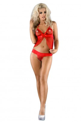 Babydoll - Me Seduce - Angela Chemise Red MS-0048