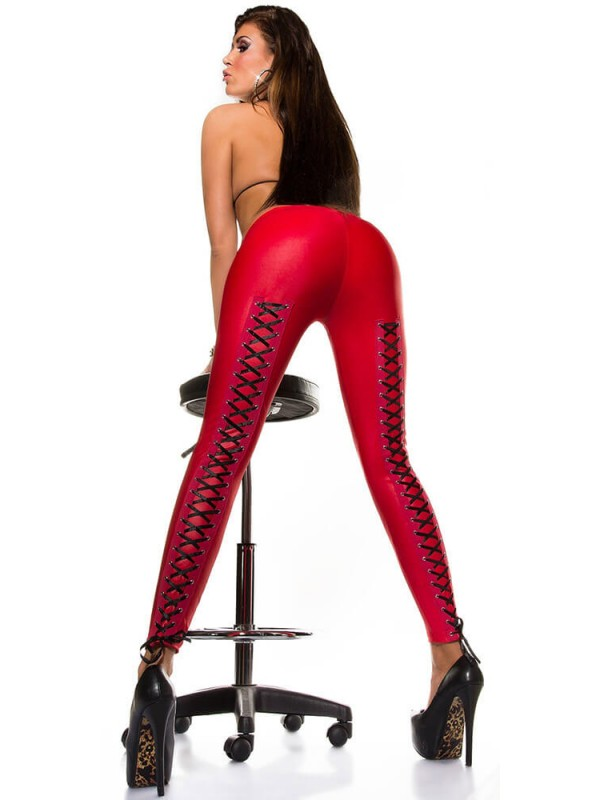 Κολάν - Sexy leggings Slp-18256-Red