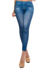 Κολάν - Sexy Leggings in Jeans print HJ1016