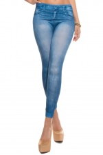 Κολάν - Sexy Leggings in Jeans print HJ1030