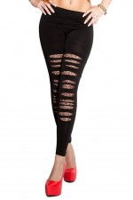 Κολάν - Sexy seamless leggings with cut-outs LE9806
