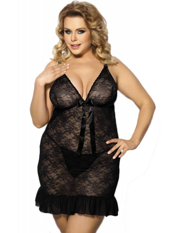 PLUS SIZE Babydoll - AS Evona AS10019