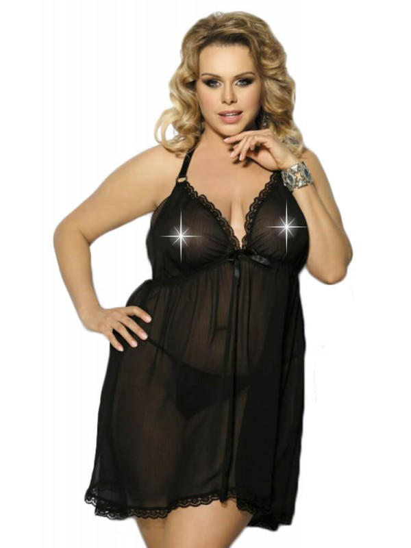 PLUS SIZE Babydoll - AS Adola AS10013