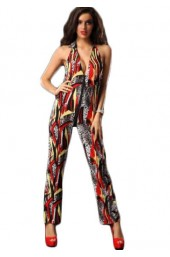 Ολόσωμη φόρμα Fashiοn Fabulous Backless Jumpsuit ES5251-4