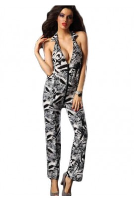 Ολόσωμη φόρμα - Fashion Fabulous Backless Jumpsuit ES5251-2