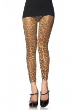 Leggings With Leopard Pattern S4F06011