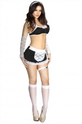 Γυναικεία στολή Chilirose-French Maid Costume Set CR-3519