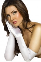 Γάντια - Chilirose Satin Gloves CR-3311 White