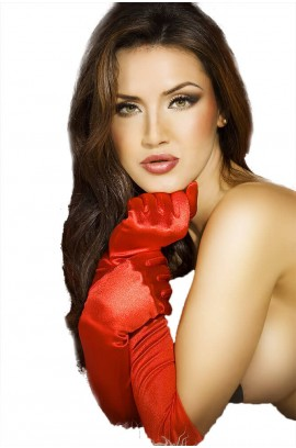 Γάντια - Chilirose Satin Gloves CR-3312 Red