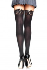 Κάλτσες - CORSET EFFECT THIGH HIGHS LG9657