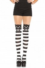 Καλσόν - FANCY CAT STRIPED PANTYHOSE S4F08175