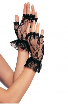 Γάντια - Leg Avenue Wrist length fingerless gloves LG1205