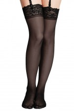 Κάλτσες - Lace Top Thigh High Stockings ES6013-0