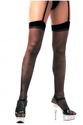 Κάλτσες - Garter Top Thigh High Stockings SFT0005