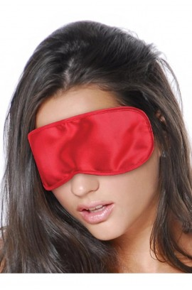 Σατέν Μάσκα - SATIN LOVE MASK RED S4F04525