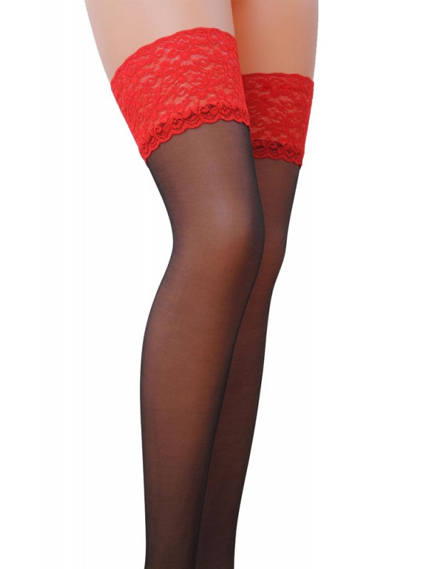 Κάλτσες - Thigh Highs With Lace Top ST004