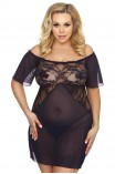 PLUS SIZE Babydoll - AS Venea chemise navy AS10028