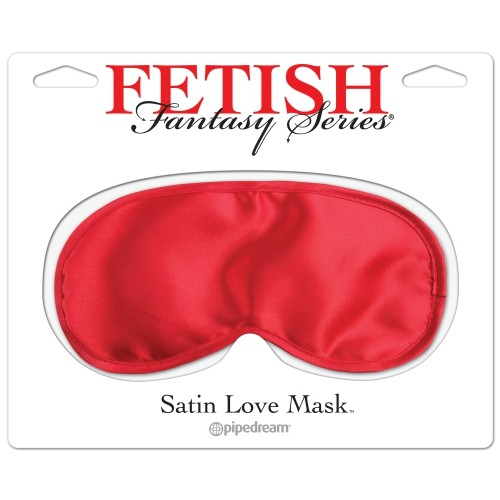 SATIN LOVE MASK RED S4F04525