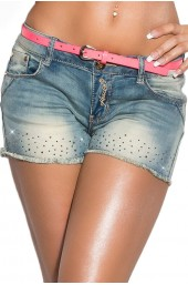 Sexy jeans-shorts CK600-156