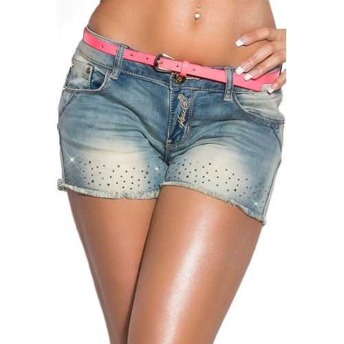 Sexy jeans-shorts CK600-156 κολαν   jeans