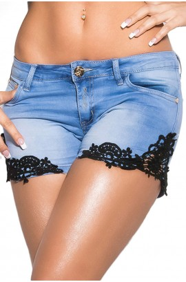 Sexy jeans-shorts CK600-165