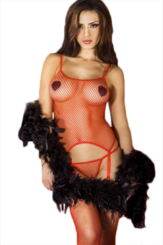 Γυναικείο σετ - Chilirose Complete Erotic Set Red CR-3307