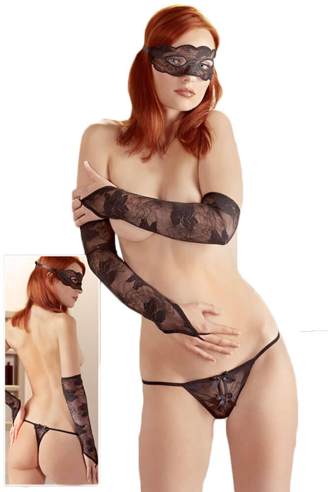 Εσωρουχα - Foreplay Set 3 pieces Black MM-2320720