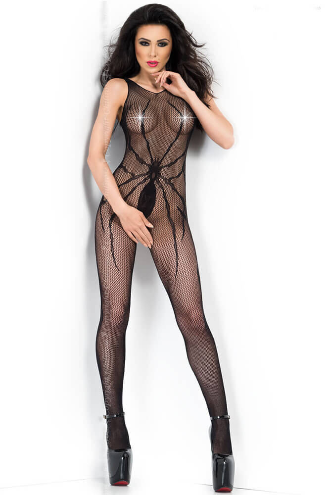 Ολόσωμο καλσόν - Chilirose Spider Bodystocking CR-3802