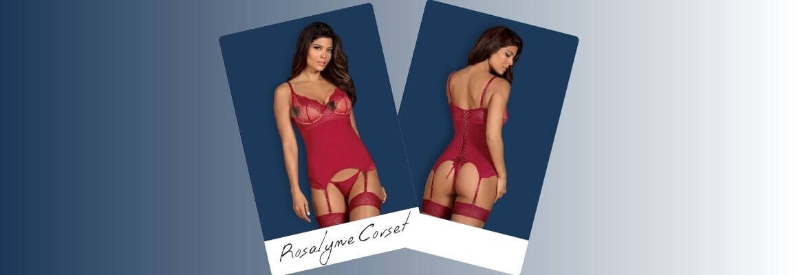 Obsessive Rosalyn Corset - Sexy and classy as always